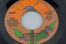 Doc Watson: Summertime / I Couldn't Believe it was True [Unplayed Copy]