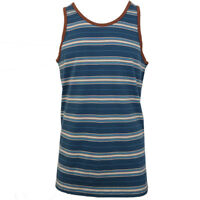 Rip Curl Men's Ocean Sunset Striped Sleeveless Tank Top (Retail $25)