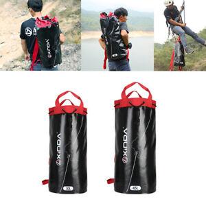 Kletterseil Tasche Rucksack Outdoor Bergsteiger Ausrüstung Halter Pack