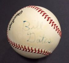 Bill Gates Signed OFFICIAL NL Baseball Autograph 1/1 Microsoft Windows JSA Coa