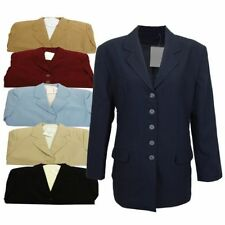 Unbranded Blazer Plus Size Button Coats & Jackets for Women