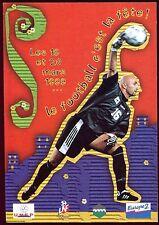 carton publicitaire . football en fête Montpellier Sochaux . 1999