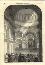 1850 Charity Children St Pauls Cathedral Anniversary Meeting