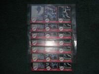 (7)LOT 1987 STAR COMPANY BASEBALL DON MATTINGLY COMPLETE SET,Sealed,Puzzle Back