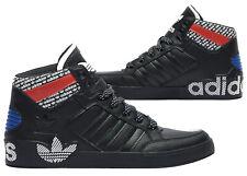 Nuevo adidas Originals Hard Court Hombre Negro Rojo Azul Zapatillas Todo Tallas