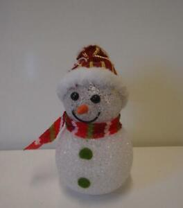 Led Snowman In Christmas Figurines For Sale Ebay
