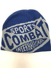 Combat Sports International Beanie Skully Hat MMA Reversible Winter Cap New