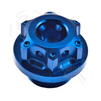Blue GP Engine Oil Cap For Suzuki GSXR 600 750 Top CNC Aluminum Filler Lid