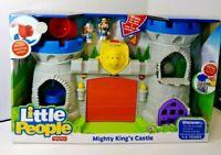 Little People Mighty Kings Castle NEW