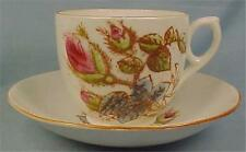 Vintage Briar Rose Cup & Saucer Porcelain As Is Condition