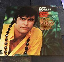 JOHN ROWLES SINGS CHERYL MOANA MARIE LP VINYL RECORD 103609-1 677