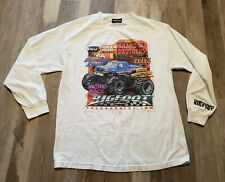 The Hundreds BIGFOOT Shirt Size L *RARE* Long Sleeve Double Sided