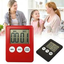 1.8 inch Digital LCD Kitchen Cooking Timer Count Down Up Alarm Magnetic XMAS