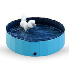 Foldable PVC Pet Pool Swimming Cooling Cat Dog Puppy Bathtub Indoor Outdoor