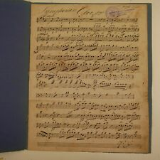 HAYDN symphony 13 , oboe part , antique music manuscript