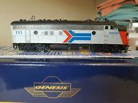 HO scale Athearn genesis FP7 Amtrak
