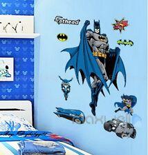 Large Batman Hero Wall Decals Removable Sticker Kids Art Nursery Home Decor