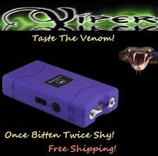 Viper Purple 1860 million Volt Self Defense Stun Gun flashlight + Holster