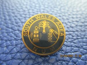 Mining Miners Pit Colliery Num Strike Badges s wales