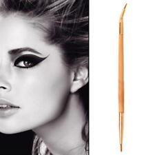 Dual Head Eye Liner Brush Angled Tip Eyeliner Gel Cream Eye Makeup Lips Brushes