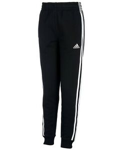 Adidas Big Boys' Iconic Tricot Jogger Pants, Navy Blue, Size 18-20, NWT