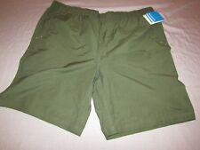 mens columbia platte point water shorts XXL nwt olive green