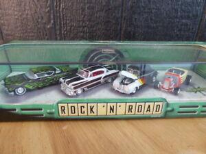 Hot Wheels Cool Classics Series Rock 'N Road 4 Car Set