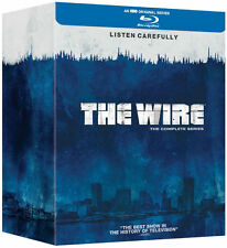 THE WIRE Complete Season Series 1-5 1 2 3 4 5 Boxset Region Free NEW BLU-RAY