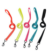 Dog Harness Rope Lead Reflective Strong Nylon Walking Training Leash with Clip