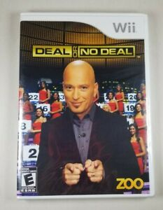 Deal or No Deal Nintendo Wii BRAND NEW SEALED In Box 2008 Game