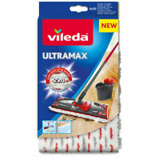 Vileda Ultramax 1-2 Spray Replacement Microfibre Pads Mop Head Refill
