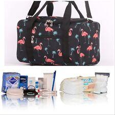 Pretty Flamingo pre-packed hospital/maternity bag mum-to-be newborn baby shower