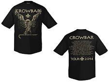 Crowbar-Eagle tour 2014 GOLD-BLACK t-shirt-taille size s-NEUF