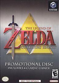Legend of Zelda Collector's Edition (Nintendo GameCube, 2003) Rare Promotional