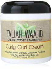 Taliah Waajid Rizado enrollamiento crema/Afro Cuidado del Cabello/Tratamiento Capilar 6oz