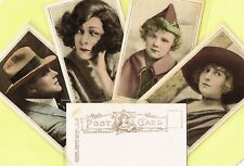 PICTURES PORTRAIT GALLERY - 1918 Silent Movie Film Star Postcards #61 to #120