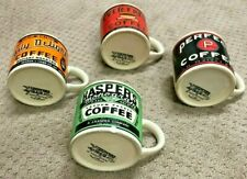 New ListingRare Westwood Yesteryear Espresso Cups, Mini Coffee Mugs