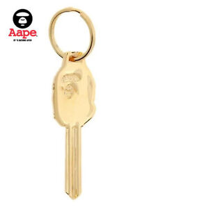 Monkey Animal Metal Keychain Key Holder Keyring Gold Silver With Package 3 Color