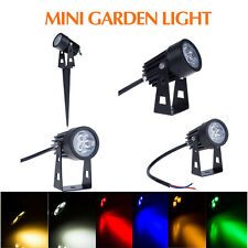Outdoor Garden Light 3W Mini LED Flood Spot Light Lawn Lamp Landscape light IP65