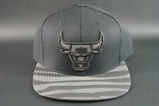 MITCHELL & NESS CHICAGO BULLS Reflective Adjustable SNAPBACK HAT CAP NBA HWC New