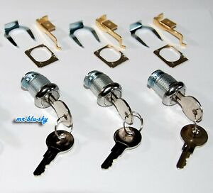 Three SRS #2185 - HON F24 & F28, Vertical File Cabinet Lock Kits