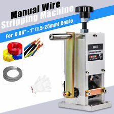 Manual Copper Wire Stripping Machine Cable Peeling Stripper Recycle Tool 25mm