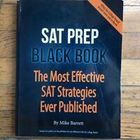 SAT Prep Black Book 2nd Edition The Most Effective SAT stra (*READ DESCRIPTION*)