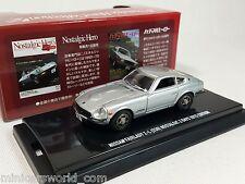 1:64 Kyosho Nissan Fairlady Z-L S30 260Z 1974 Silver Nostalgic Hero 2 Days 2015