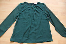 BODEN  green  Eve  top   size 8     WO111