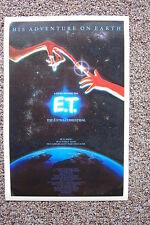 Et #2 Lobby Card Movie Poster