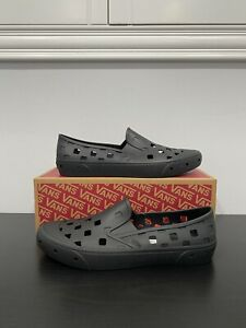 Vans Trek Slip-On Black Breathable Rinseable Durable Size 13 Men's Fast Shipping
