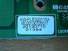 kwp-ple320115a cqc09001036711 CANWAY Power Placa PSU desde Goodmans gvledhd32dvd