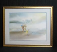 "Carolyn Blish Print ""Sand Treasures"" Signed/Numbered Beautifully Framed!"
