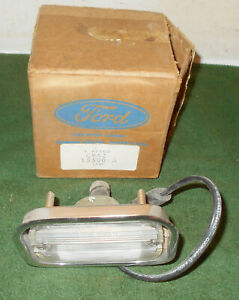 1969 1970 Ford Country Sedan Squire Mercury Colony Park Wagon NOS BACK-UP LAMP
